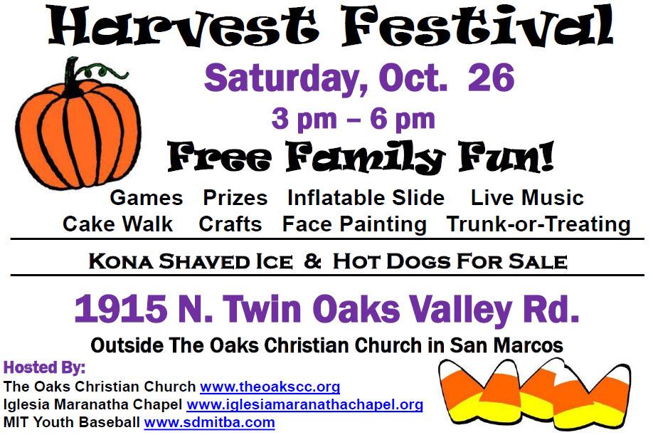 FREE HARVEST FESTIVAL