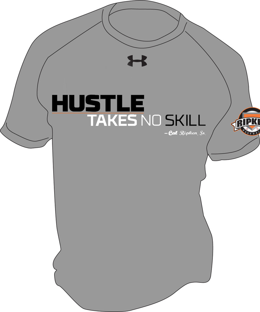 HUSTLE TAKES NO SKILL TEE