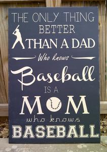 mom who knows baseball